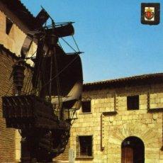 Postales: VALLADOLID Nº 171 CASA DE COLÓN MUSEO EDICIONES FISA ESCRITA CIRCULADA SELLO. Lote 27654874