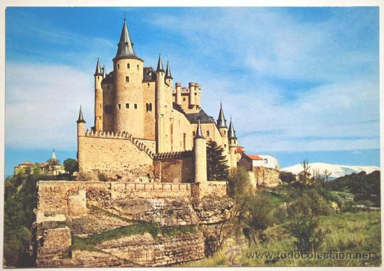 SEGOVIA. ALCAZAR DE SEGOVIA. (Postales - España - Castilla y León Moderna (desde 1940))