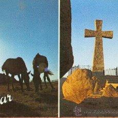 Postales: BEJAR - PEÑA DE LA CRUZ - Nº 6 FOTOGRAFIA R. F. GORZO - ESCUDO DE ORO ED. FISA. Lote 27730522