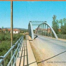 Postales: CASTROCONTRIGO - LEON - PUENTE SOBRE EL RIO ERIA - Nº 335 HIJOS DE F. ALONSO - AÑO 1975. Lote 27735365