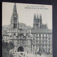 Postales: BURGOS – PUENTE DE SANTA MARIA – 1340 HAUSER Y MENET. Lote 27827426