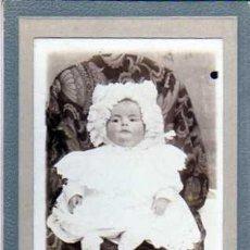 Postales: FOTOGRAFIA TAMAÑO 13 X 8,50. A. GOMEZ FOTOGRAFO. TORO. ZAMORA. RETRATO DE NIÑA. 1907.. Lote 27888567
