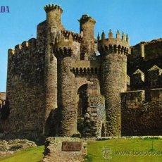 Cartes Postales: PONFERRADA 854 CASTILLO DE LOS TEMPLARIOS EDICIONES PARÍS ESCRITA SIN CIRCULAR . Lote 27974149