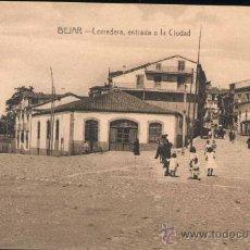 Postales: BÉJAR (SALAMANCA).- CORREDERA, ENTRADA A LA CIUDAD. Lote 28110723