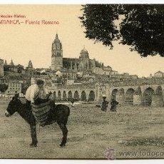 Postales: POSTAL ANTIGUA SALAMANCA PUENTE ROMANO COLECCIÓN NÚÑEZ Nº2. Lote 46727517
