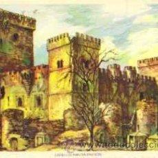 Postales: CASTILLO DE AMPUDIA (PALENCIA). Lote 28241633