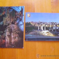 Postales: LOTE DE 2 POSTALES DE AVILA. CUEVAS DEL ÁGUILA, ARENAS DE SAN PEDRO. AÑOS 60. ¡NUEVAS!. Lote 28520202