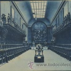 Cartoline: POSTAL ANTIGUA DE VALLADOLID ANTIGUO COLEGIO DE SANTA CRUZ MUSEO SALON DE SILLERIA. Lote 55955713