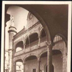 Postales: CIUDAD RODRIGO (SALAMANCA).- DETALLE DE LA CASA CONSISTORIAL. Lote 28683109