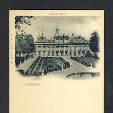 Postales: POSTAL DE LA GRANJA: PALACIO REAL (HAUSER Y MENET NUM. 40). Lote 28857342