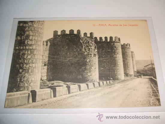 AVILA MURALLAS DE SAN SEGUNDO EDICION THOMAS Nº 13 (Postales - España - Castilla y León Antigua (hasta 1939))