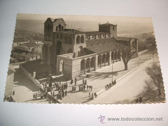 AVILA VISTA PANORAMICA DE LA BASILICA DE SAN VICENTE (Postales - España - Castilla y León Antigua (hasta 1939))