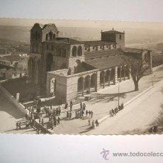 Postales: AVILA VISTA PANORAMICA DE LA BASILICA DE SAN VICENTE. Lote 28893946