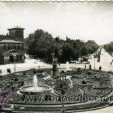 Cartoline: VALLADOLID.- MONUMENTO A ZORRILLA Y PASEO.- EDICIONES DARVI Nº 19.- FOTOGRÁFICA.. Lote 28898787