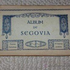 Postales: ALBUM DE SEGOVIA, 20 TARJETAS POSTALES, THOMAS. Lote 28997544
