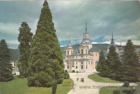 LA GRANJA DE SAN ILDEFONSO (SEGOVIA) - LA COLEGIATA (Postales - España - Castilla y León Moderna (desde 1940))