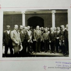 Postales: ANTIGUA FOTOGRAFIA DE MIGUEL PRIMO DE RIVERA, EN EL PATIO DE LA DIPUTACION PROVINCIAL DE SEGOVIA, FO. Lote 42643013