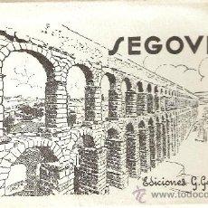 Postales: SEGOVIA- BLOCK TIPO ACORDEON - COMPLETO 10 POST. - GARRABELLA- VER FOTOS ADICIONALES - ( B-91). Lote 29135656