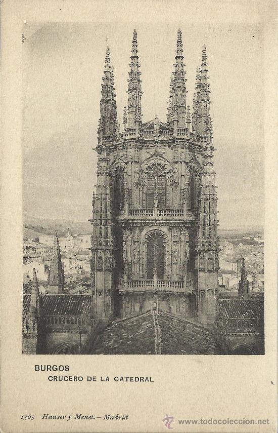 BURGOS CATEDRAL CRUCERO (Postales - España - Castilla y León Antigua (hasta 1939))
