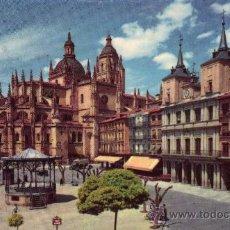 Postales: SEGOVIA 502 PLAZA DEL GENERAL FRANCO EDICIONES GARCÍA GARRABELLA NUEVA SIN CIRCULAR . Lote 29479012