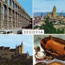 Postales: SEGOVIA Nº 65 DETALLES DE LA CIUDAD GARCIA GARRABELA ESCRITA SIN CIRCULAR . Lote 29496253