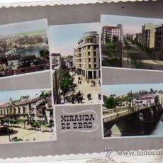 Postales: MIRANDA DE EBRO. VARIAS VISTAS. ED M. ARRIBAS. SIN CIRCULAR.. Lote 29540386