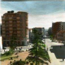 Postales: MIRANDA DE EBRO (BURGOS).- JARDINES Y PLAZA DE PRIM.- EDICIONES SICILIA Nº 13.- FOTOG. COLOREADA.. Lote 29588544