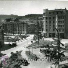 Postales: MIRANDA DE EBRO (BURGOS).- JARDINES Y PLAZA DE PRIM.- EDICIONES SICILIA Nº 11.- FOTOGRÁFICA. Lote 30367421