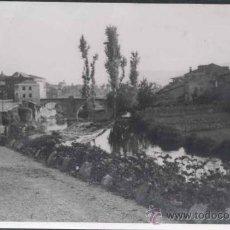 Postales: SEGOVIA.- FOTOGRAFÍA DE UNA VISTA DE LA CARRETERA DE CASTILLA HACIA MADRID. AÑO 1947. Lote 29821055