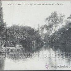Cartes Postales: POSTAL VALLADOLID LAGO DE LOS JARDINES DEL CAMPO . J.H. CA AÑO 1910 .. Lote 30304562