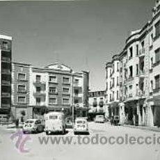 Postales: ARANDA DE DUERO (BURGOS).- PLAZA DEL 7 DE AGOSTO.- EDICIONES SICILIA Nº 34.- FOTOGRÁFICA.. Lote 30002355