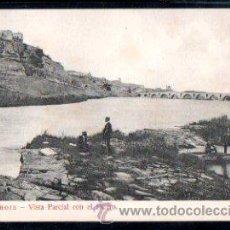 Postales: TARJETA POSTAL DE ZAMORA - VISTA PARCIAL CON EL DUERO. NUM.3. EDICION GARCIA HERMANOS, SERIE F. Lote 30078502