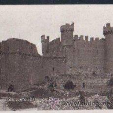 Postales: TARJETA POSTAL FOTOGRAFICA DE BURGOS - OLMILLOS. JUNTO A SASOMON. CASTILLO. . Lote 30156702
