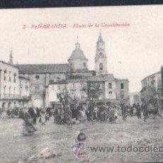 Postales: TARJETA POSTAL DE SALAMANCA, PEÑARANDA DE BRACAMONTE. PLAZA DE LA CONSTITUCION.. Lote 30156955