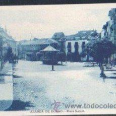 Postales: TARJETA POSTAL DE BURGOS - ARANDA DE DUERO. PLAZA MAYOR. EDICIONES C. ESTEBAN. Lote 30157006