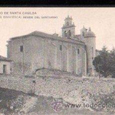 Postales: TARJETA POSTAL DE BURGOS - BRIVIESCA. SANTUARIO DE SANTA CASILDA. ABSIDE DEL SANTUARIO. 7. Lote 30157245