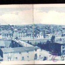 Postales: TARJETA POSTAL DOBLE DE BURGOS - ARANDA DEL DUERO. VISTA PANORAMICA. RARA. Lote 35891284