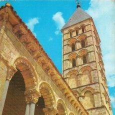 Postales: SEGOVIA - IGLESIA DE SAN ESTEBAN - CIRCULADA. Lote 30289419