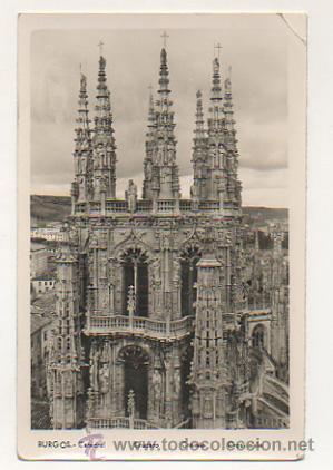 CATEDRAL DE BURGOS. CRUCERO. (Postales - España - Castilla y León Antigua (hasta 1939))