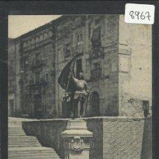 Postales: SEGOVIA - ESTATUA DE JUAN BRAVO - HAUSER Y MENET - (8967). Lote 30520973