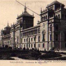 Postales: VALLADOLID ACADEMIA DE CABALLERÍA EDICIONES M. ARRIBAS SIN CIRCULAR . Lote 30532418