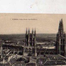 Postales: BURGOS Nº 5 VISTA DESDE SAN ESTEBAN FOTOTIPIA DE JAUSER Y MENET SIN CIRCULAR . Lote 30584498