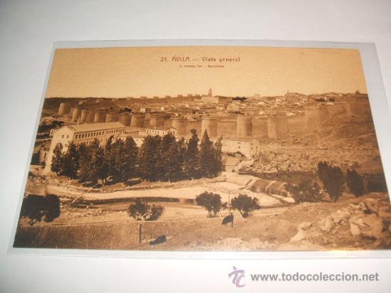 AVILA VISTA GENERAL (Postales - España - Castilla y León Antigua (hasta 1939))