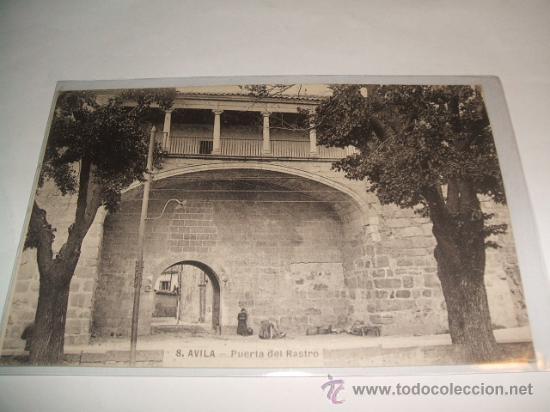 AVILA PUERTA DEL RASTRO (Postales - España - Castilla y León Antigua (hasta 1939))