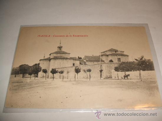 AVILA CONVENTO DE LA ENCARNACION (Postales - España - Castilla y León Antigua (hasta 1939))