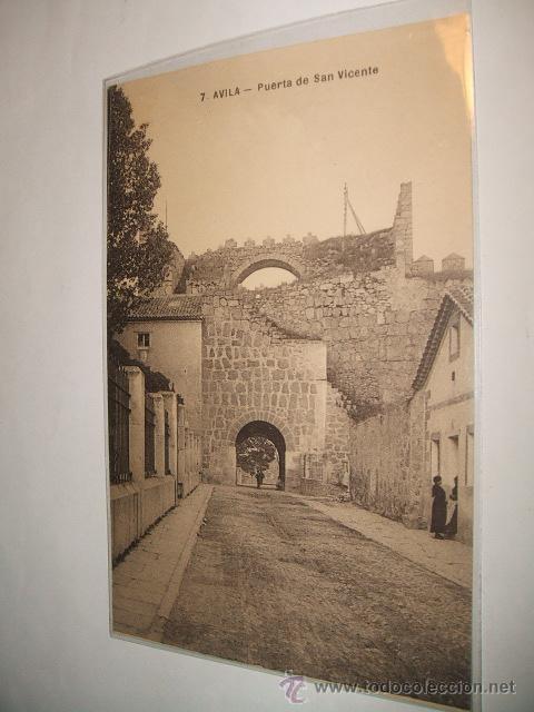 AVILA PUERTA DE SAN VICENTE (Postales - España - Castilla y León Antigua (hasta 1939))