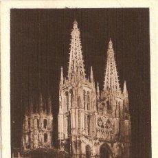Postales: BURGOS - LA CATEDRAL ILUMINADA - EDICIONES M.ARRIBAS - S/C. Lote 30678961