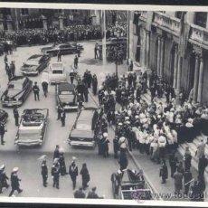 Postales: BURGOS.- VISITA DEL CAUDILLO EN 1961 (FOTOGRAFIA). Lote 31007237
