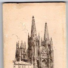 Postales: LIBRILLO CON 15 POSTALES EN ACORDEÓN DE BURGOS, CABILDO CATEDRAL. Lote 31101085