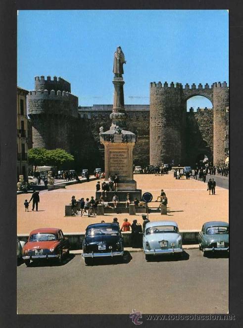 AVILA. *PLAZA DE SANTA TERESA...* ED. G. GARRABELLA - SRC Nº 36. NUEVA. (Postales - España - Castilla y León Moderna (desde 1940))